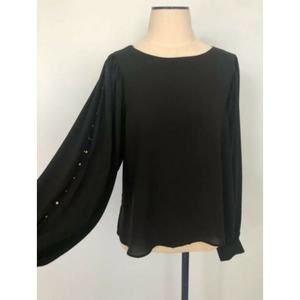 Gap Long Sleeves with Slits and Studs Blouse